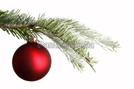 purple, christmas, ball, on, a, snowy - 12556124