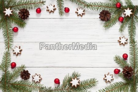 weihnachtlicher frame