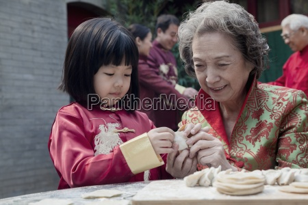 chinese culture food and drink family