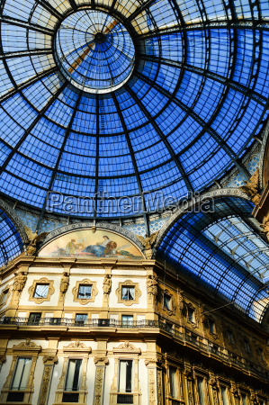 galleria vittorio emanuele ii in central