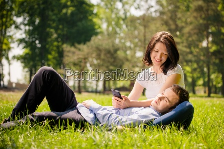 young couple modern lifestyle