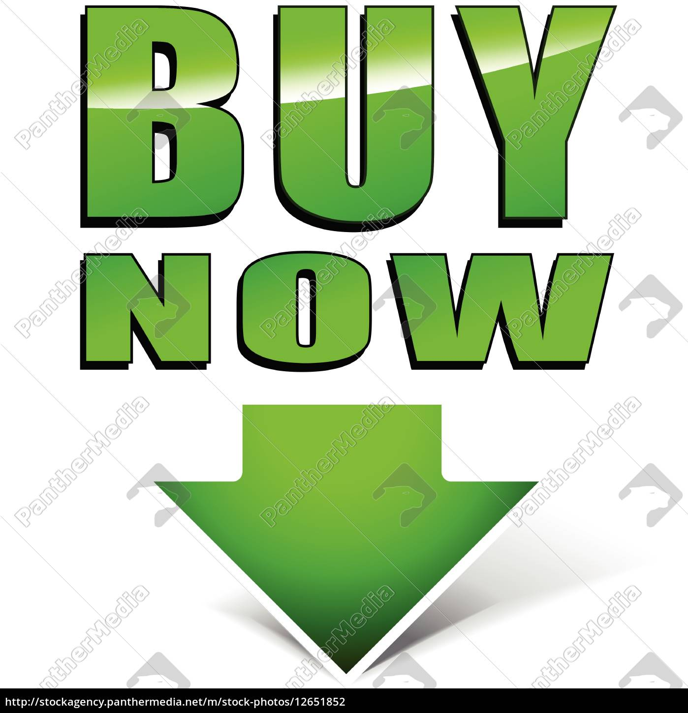 Buy Now Green Icon Royalty Free Photo 12651852 Panthermedia Stock Agency