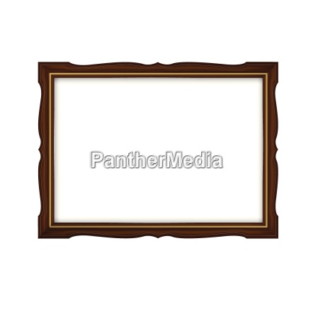 wooden and gold frame for paintings
