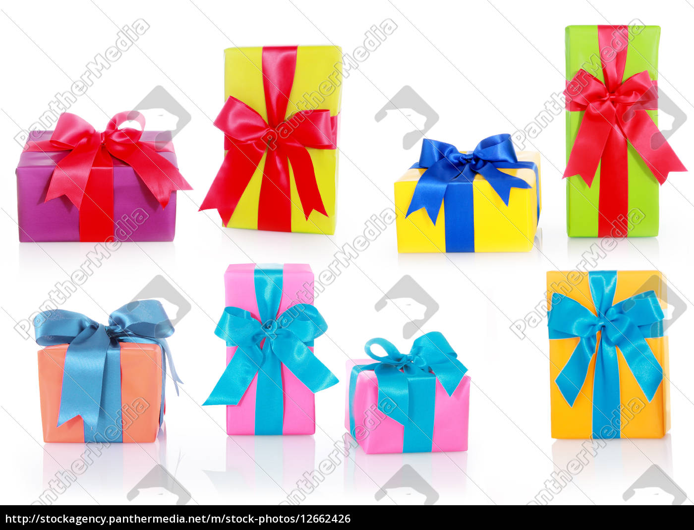 assorted, sizes, and, colors, gift, boxes - 12662426