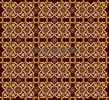seamless pattern background five version