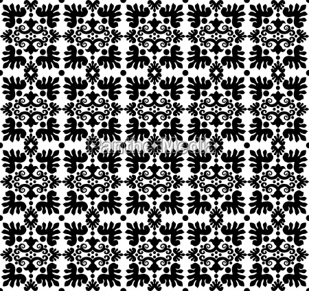 seamless pattern background four version