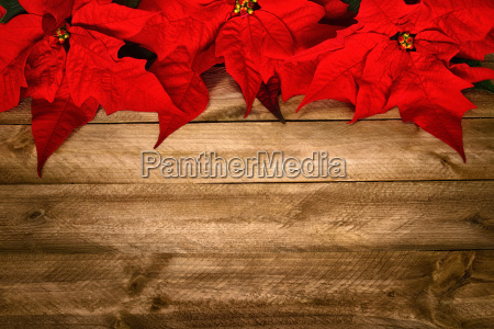 background in wood and christmas star