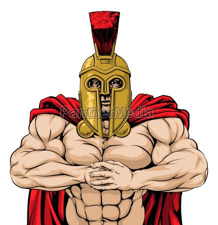 bring it spartan mascot