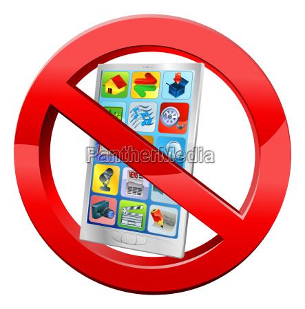 no mobiles