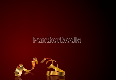 gold confetti and background