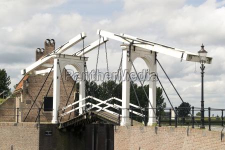 drawbridge in heusden
