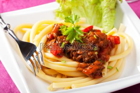 hungarian, goulash, with, macaroni, pasta - 12704860