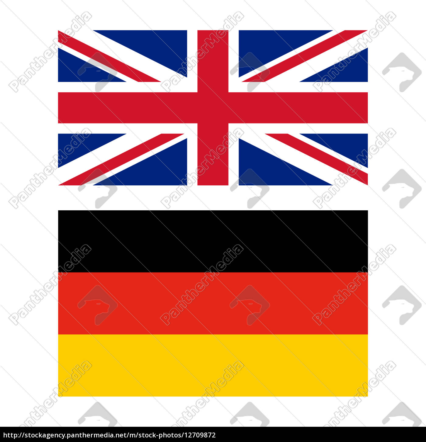 flag, of, united, kingdom, and, germany - 12709872