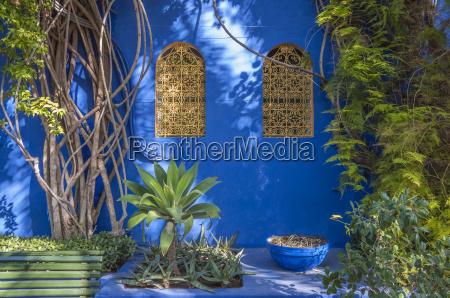 majorelle gardens in marrakesh morocco