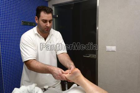 medical massage at the spa buk