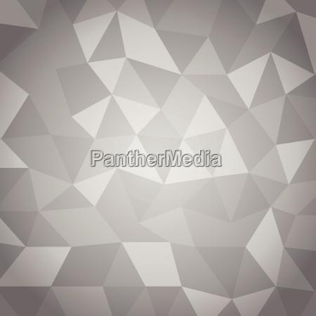 triangulo abstracto con fondo gris