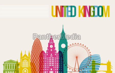 travel united kingdom destination landmarks skyline