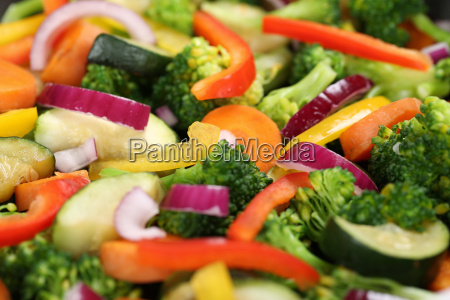 preparing food and cooking vegetables background