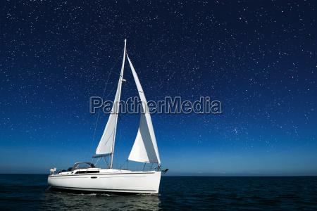 sailboat under blue sky