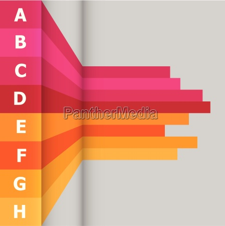 horizontal banner with colorful lines