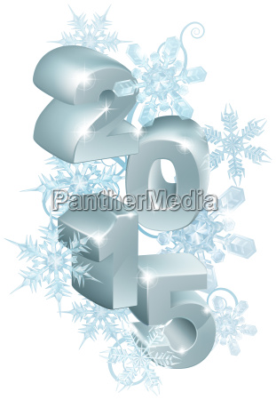 2015 new year or christmas decorations