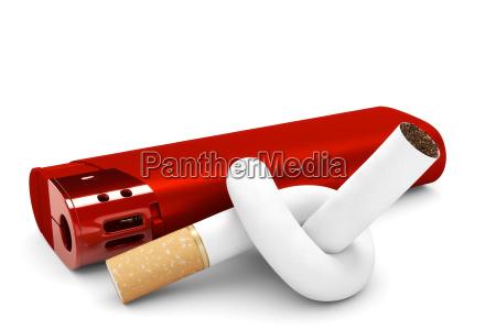 nodes in cigarette