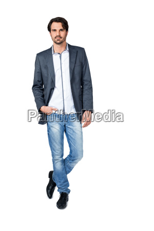 self proliferate man in casual clothes