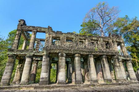 preah khan temple siem reap cambodia