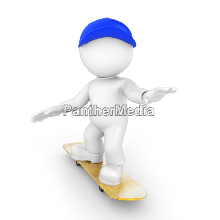 skater from the front