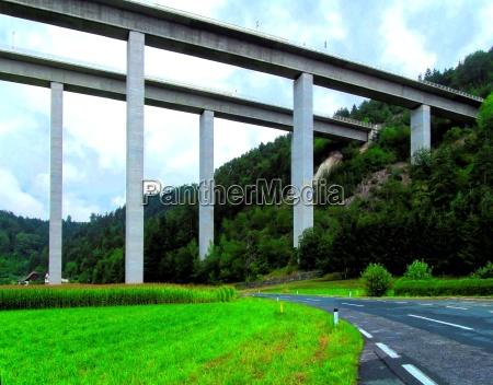 motorway bridges of the a2 in