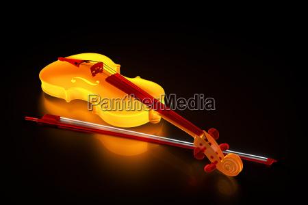 luminous violin