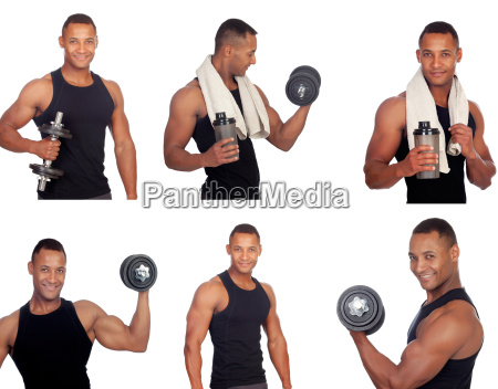 sequence of latin man in the