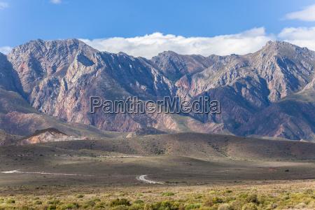 mountains plateau road