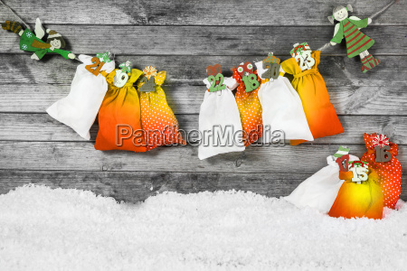 santa sacks for christmas decoration
