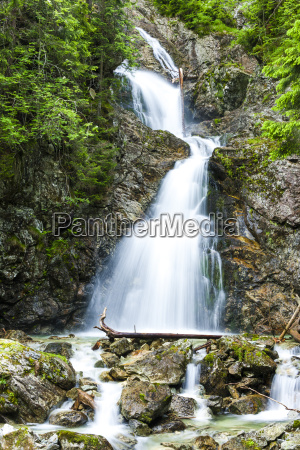 dolny nefcersky waterfall vysoke tatry high