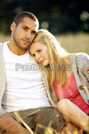 two people couple young adult male