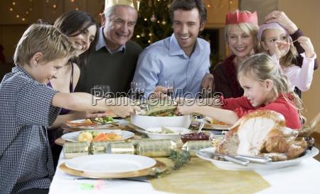 family feeding meal mealtimes taste tasty
