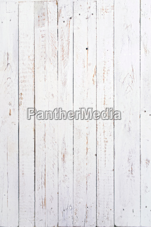 several wooden boards painted white and