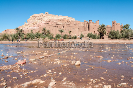 the kasbah of ait benhaddou morocco