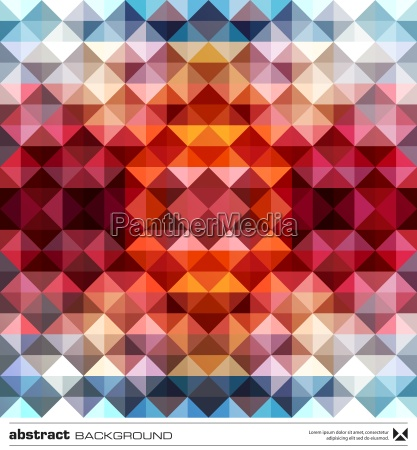 abstract, colorful, triangles, background., vector. - 12930568