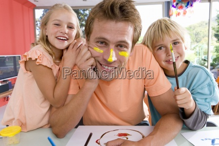 father with son and daughter 6