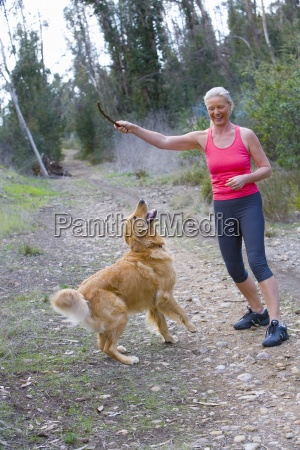 active, senior, woman, , in, pink, sports - 12934654