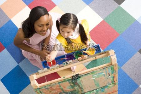 teacher by girl 5 7 using