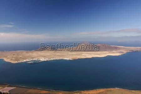 this view of la graciosa island