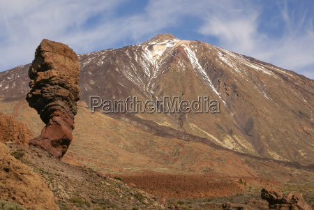 tenerife canary islands spain volcano