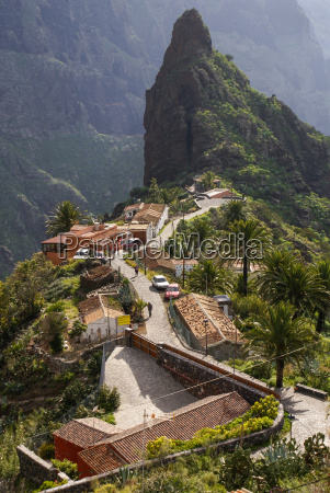 scenic view of masca tenerife canary