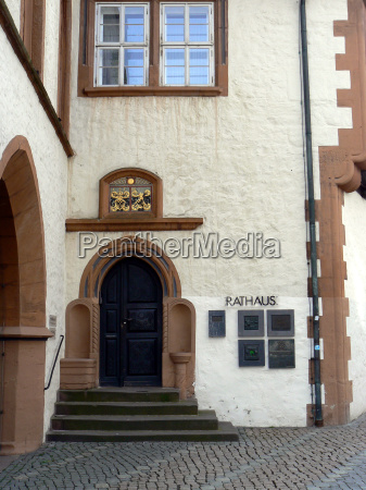 town hall in goslar