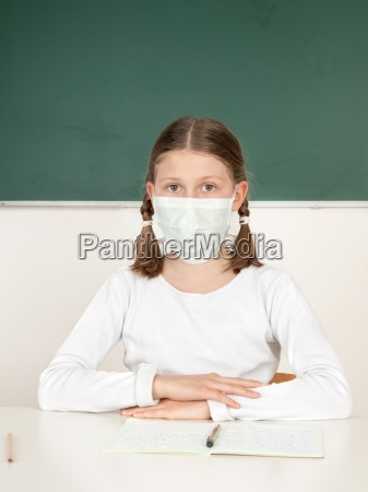 the air in the classroom
