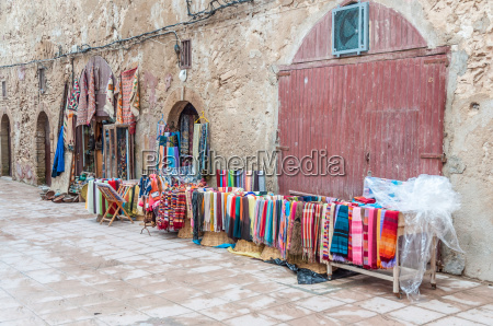 colorful oriental carpets and fabrics for