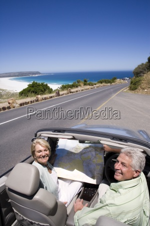 south, africa, , cape, town, , senior, couple - 12960060